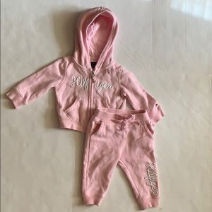 Pink TH sweatsuit